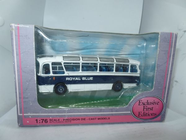 EFE 12119 Harrington Cavalier Coach  Royal Blue Yeovil Subscribers Worn Box